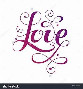 60+ Word Love Clip Art
