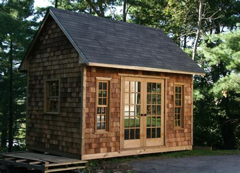 Shed Massachusetts by Telluride Garden Shed With Shingles In Manchester Ma 200795