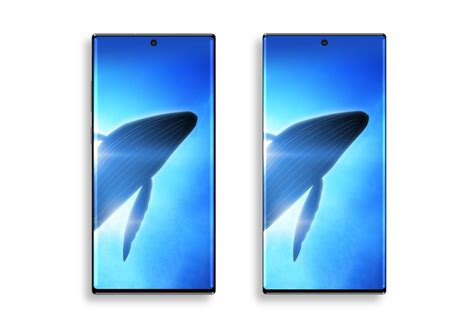 this is the button less galaxy note10 that samsung apparently canceled