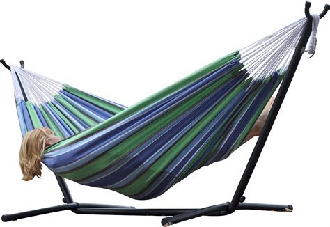 hammocks with stand vivere hammock with steel stand just 94 49 reg