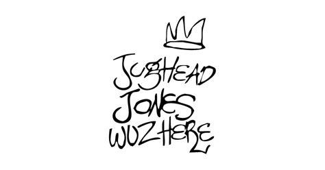 white pillows jughead jones wuz here riverdale t shirt teepublic
