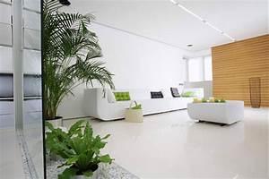 Pflanzen Für Wohnzimmer : frische farben im wohnzimmer 20 ideen in gr n und wei ~ Markanthonyermac.com Haus und Dekorationen