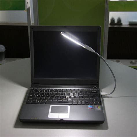 laptop with light up keyboard usb 8 led light l keyboard reading for