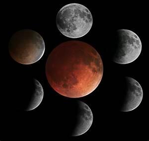 Sequence of Total Lunar Eclipse, April, 2014 | Rod Pommier ...