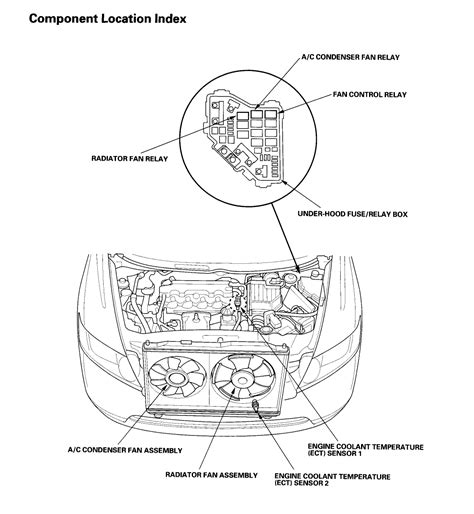 Honda Engine Cooling Diagram by 1994 Honda Civic Ex Coupe Engine Diagram Thermostat