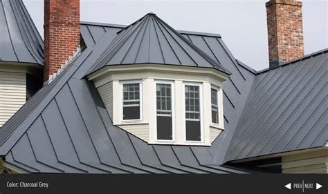 standing seam metal roof colors englert charcoal gray house in 2019 metal roof