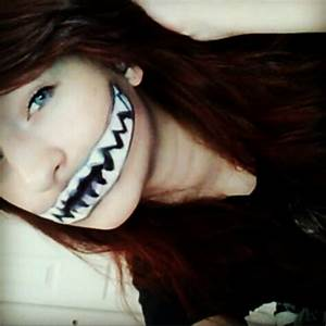 Easy Halloween monster mouth makeup   Holiday stuff ...