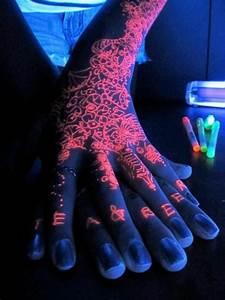 Tattoo Uv Farbe Ist Der Schwarzlicht Tattoo Eigentlich Gefahrlos