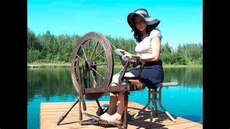 spin yarn   wheel absolute beginner lesson