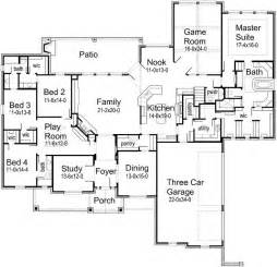 One Floor House Plan by 25 Best Ideas About Floor Plans On Home Plans