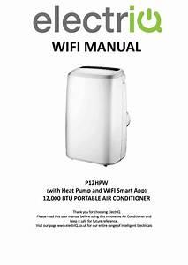 Electriq P12hpw 12000 Btu Smart Wifi App