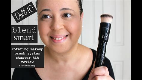 doll  blend smart rotating makeup brush system starter