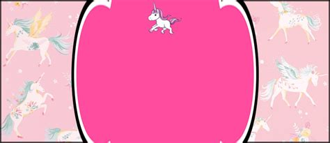 editable unicorn birthday invitation invitations