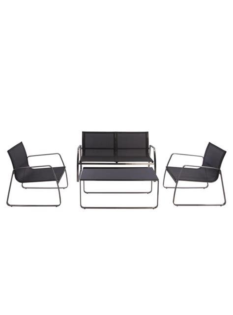 canapé pour terrasse ensemble canapé fauteuils table basse pour extérieur
