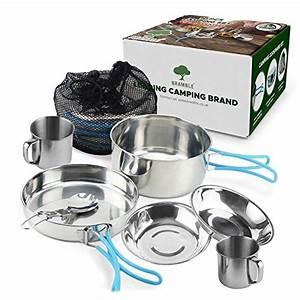 Griffe Für Kochtöpfe : camping kochset edelstahl ~ Michelbontemps.com Haus und Dekorationen