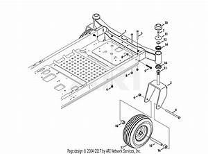 Troy Bilt 17afcacp011 Mustang 50 Xp  2013  Parts Diagram