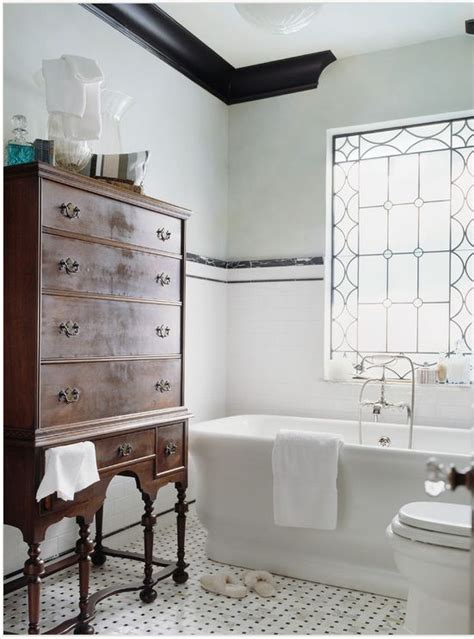 refined decor ideas   vintage bathroom digsdigs