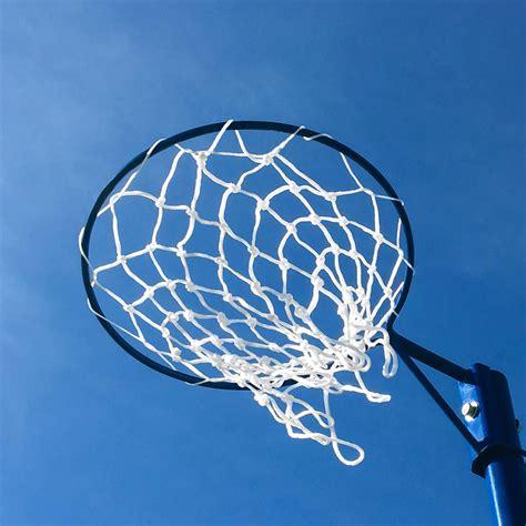 netball post hoops netball nets net world sports