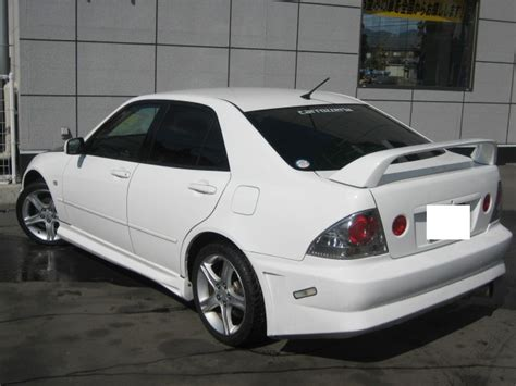 toyota altezza rs sxe  sale car  track trading