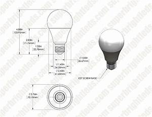 A21 Light Bulb Dimensions A21 Led Bulb 115 Watt Equivalent 12v Dc Super Bright