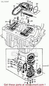 Honda Cl77 Scrambler 1965 Usa    305 Oil Pump
