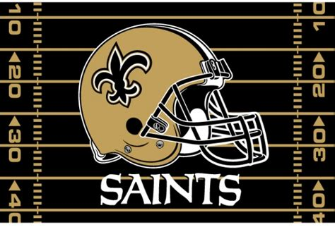 new orleans saints nfl 39 quot x 59 quot tufted rug