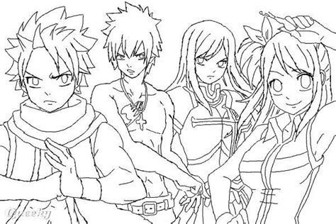 fairy tail anime characters drawings drawing manga