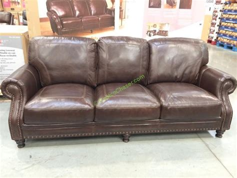 costco leather sofa simon li leather sofa costcochaser