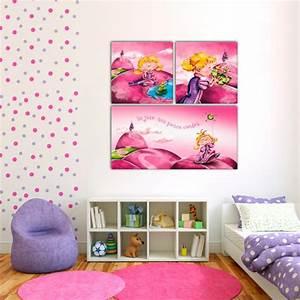Tableau Chambre Enfant : tableau 39 princesse et la grenouille 39 decodeo ~ Teatrodelosmanantiales.com Idées de Décoration