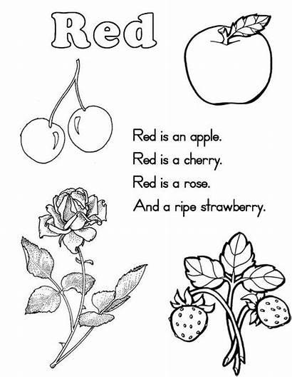Worksheets Printable Coloring Preschool Pink Kindergarten Pages