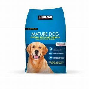 Kirkland signature pet food and pet supplies gt kirkland for Costco senior dog food