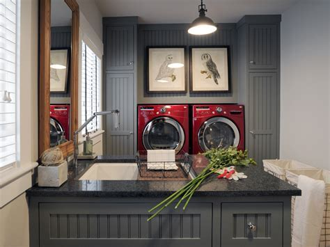 Small Space Solution: Kitchen And Laundry Room Combo