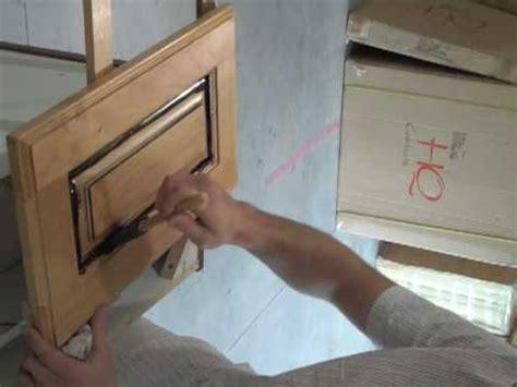 glaze kitchen cabinets youtube