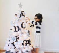 Tannenbaum Schwarz Weiß : 1000 ideen f r weihnachtsdekoration christbaumschmuck lichterketten tischdeko und viele ~ Orissabook.com Haus und Dekorationen