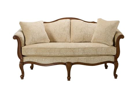 Furniture Loveseats by Evette Settee Sofas Loveseats Ethan Allen