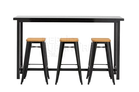 table bar cuisine industrial dining room commercial bar tables and stools