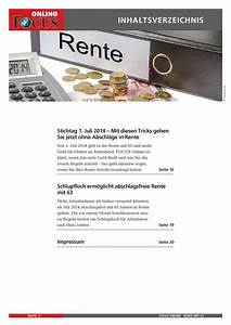 Rente Berechnen Mit 63 : rente mit 63 focus online pdf shop ~ Themetempest.com Abrechnung