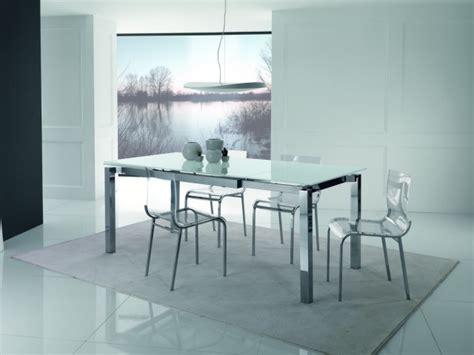 cuisine blanche et bleu table salle à manger extensible et design en 35 images