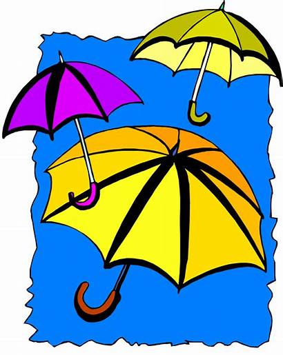 Clip April Showers Clipart Umbrella Shower Flowers