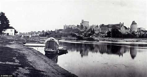 Boat Cleaning Kingston Ontario by River Thames Oldest Surviving Photographs Revealed