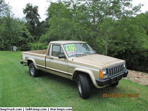 jeep comanche 4x4 1989 comanche 4 sale 001 pbi70j