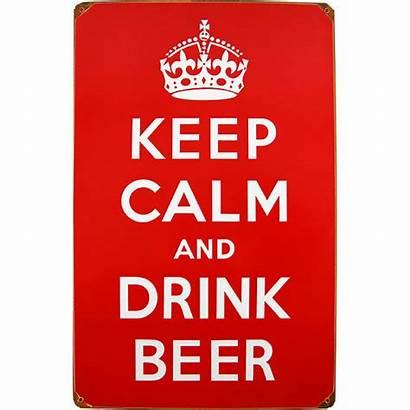 Bar Beer Sign Keep Metal Drink Funny