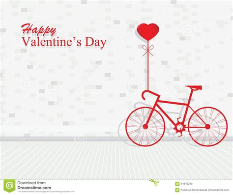 valentines day  bicycle  ballon heart shaped