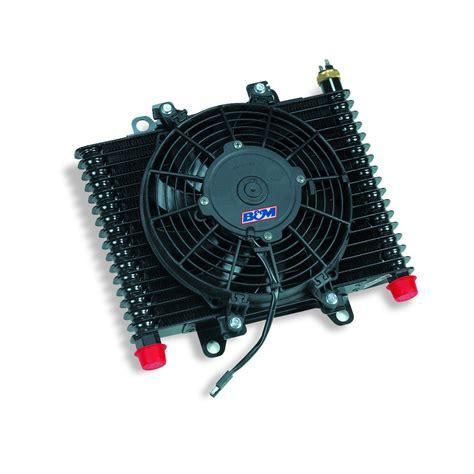 fluid cooler with fan b m 70297 hi tek automatic transmission oil system