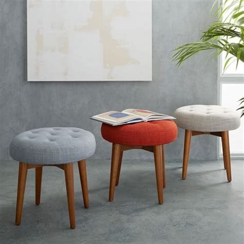 Upholstered Stools For Living Room by Mid Century Stool En 2019 For The Home Upholstered