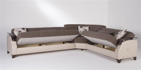 2018 Latest Red Sectional Sleeper Sofas Sofa Ideas