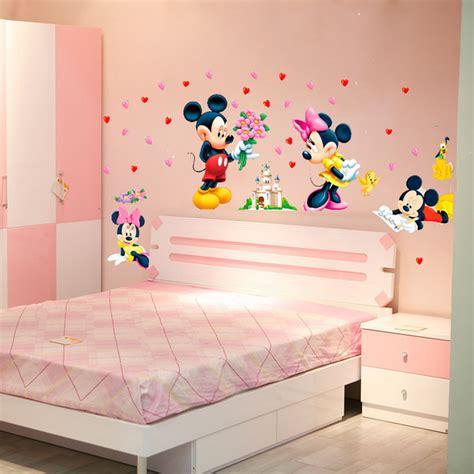 dessin mural chambre fille beautiful dessin anim de mickey minnie souris bb accueil