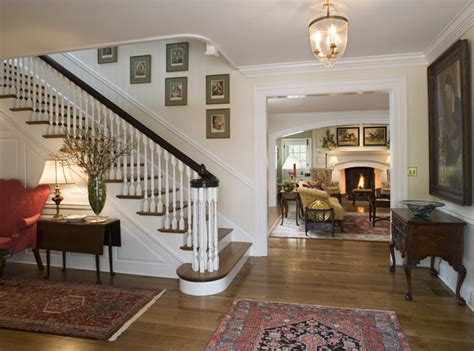 colonial style home interiors canary cottage traditional staircase philadelphia by archer buchanan architecture ltd
