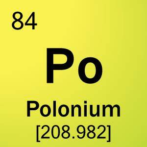 radium and polo... Polonium