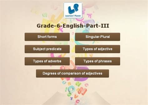 interactive  grade english grammar
